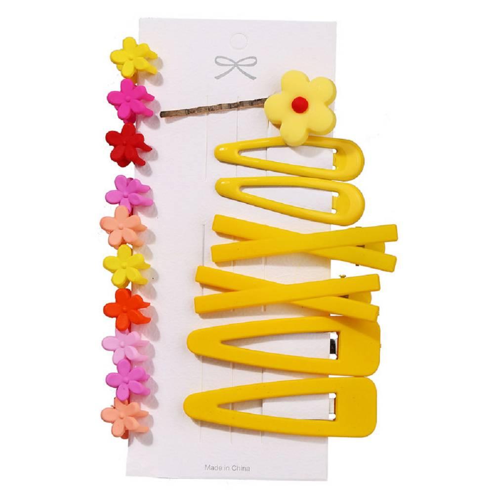 17pcs Plastic Hair accessories