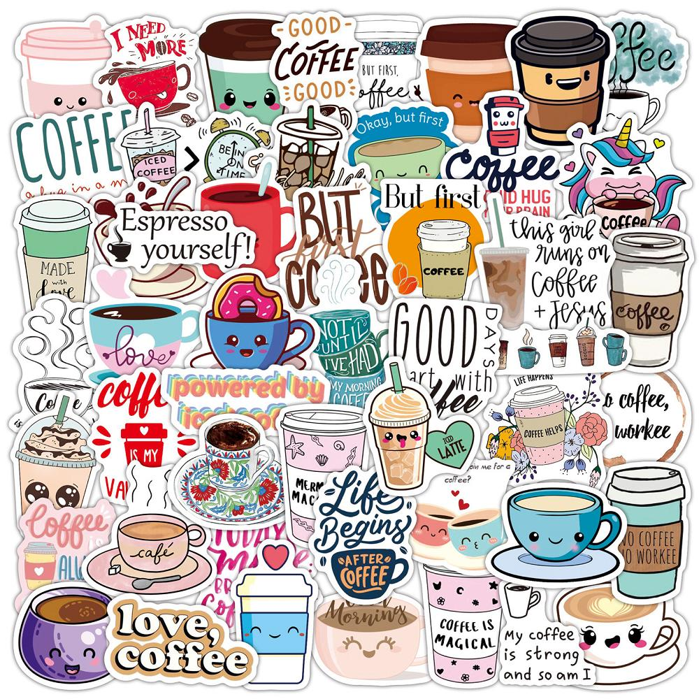 50 pcs Laptop Skateboard doodle Waterproof Sticker