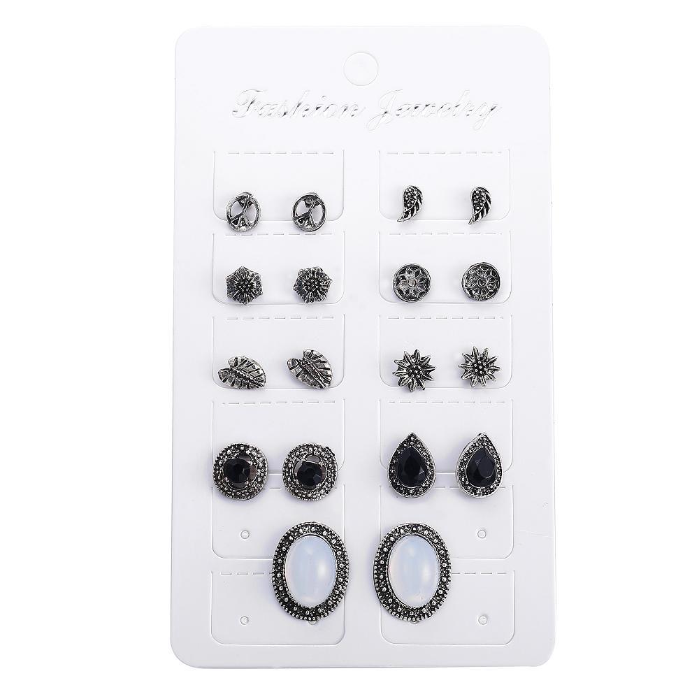 9 pair Earring