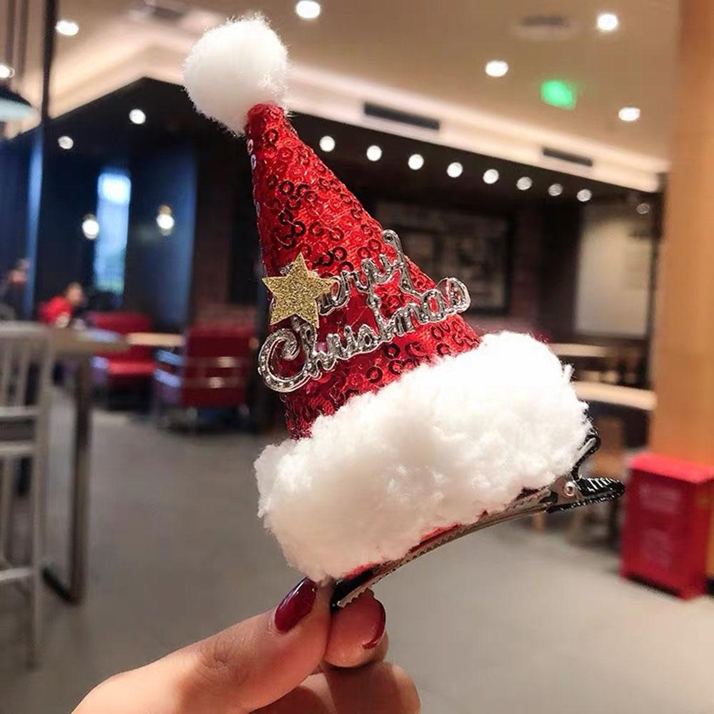 Adult Christmas hat hairpin Christmas Ornament