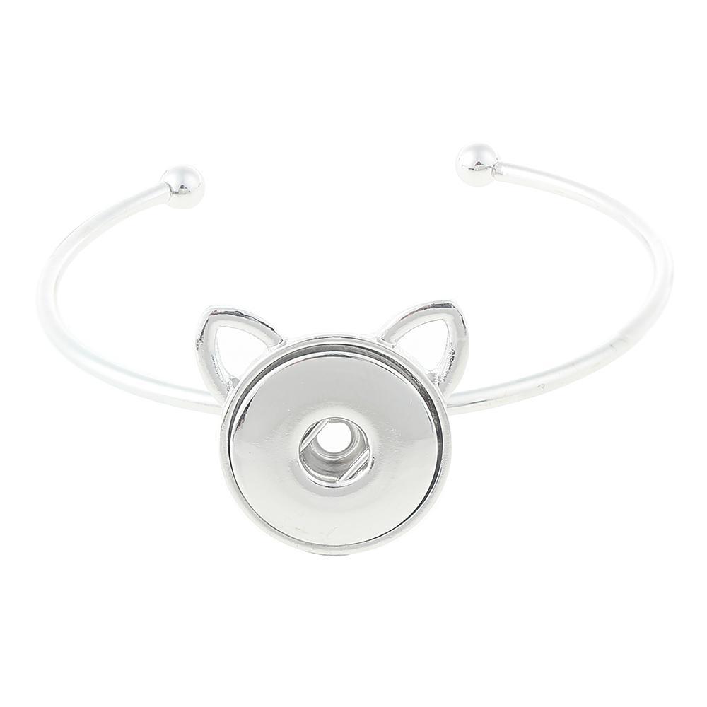 20mm snap button bracelet Jewelry
