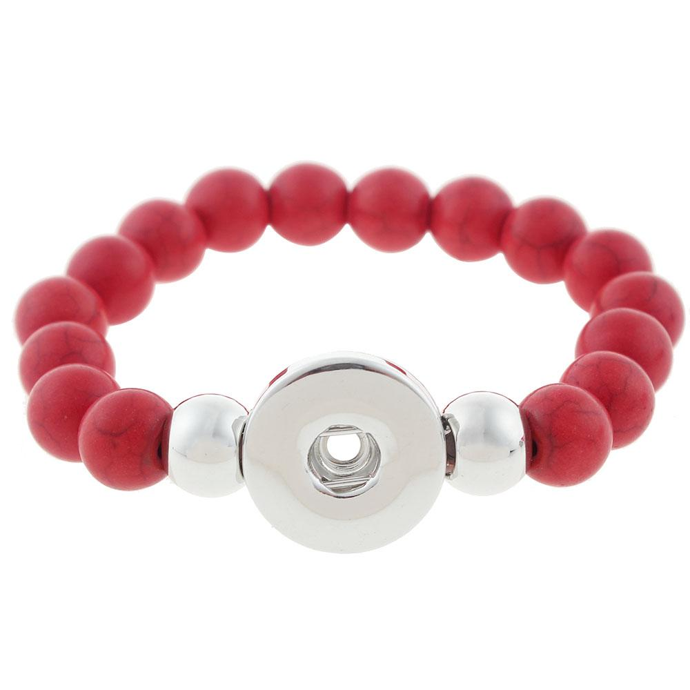 Snap button Beads Bracelets