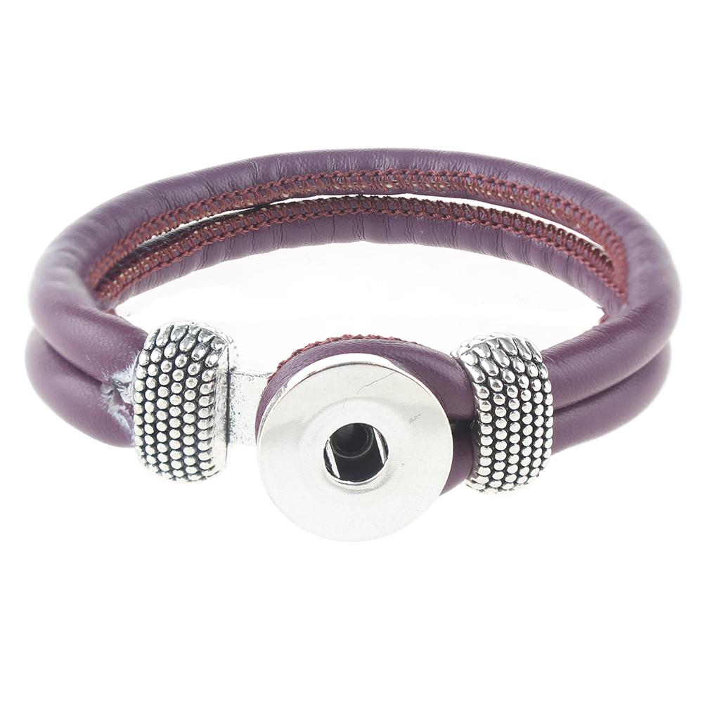 Leather Snap Bracelets