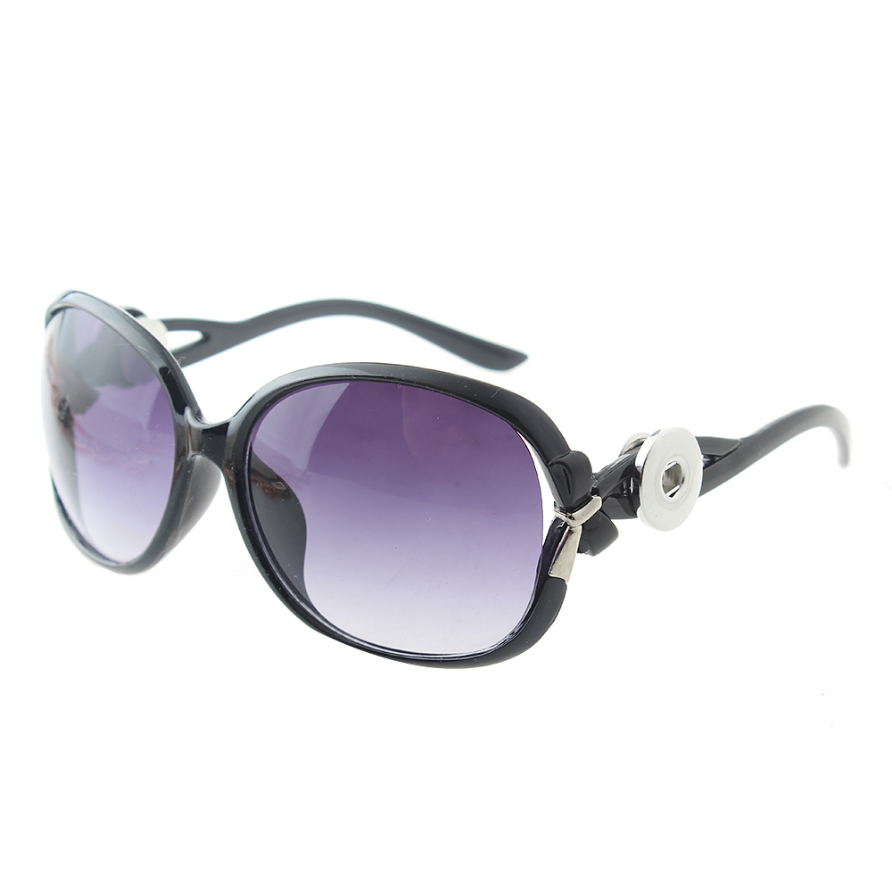 Leopard Print snap glasses snap sunglasses with 2 buttons fit 18-20mm snaps