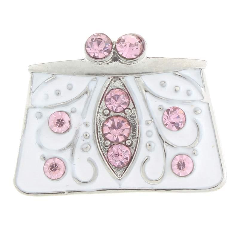 20MM handbag snaps with enamel Snap Button