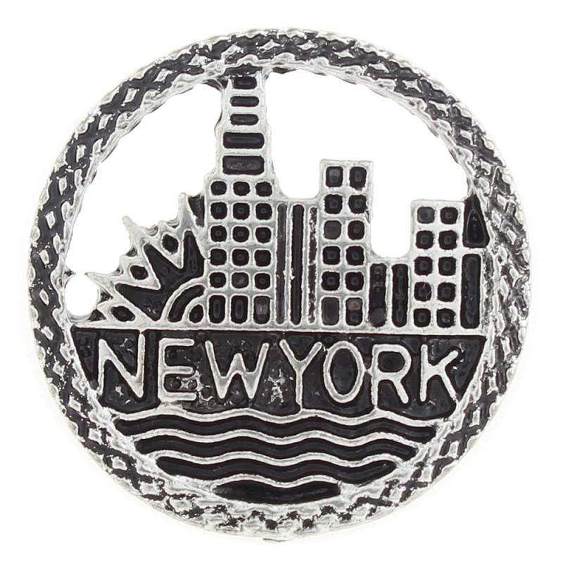 20MM New York snaps plated sliver Snap Button
