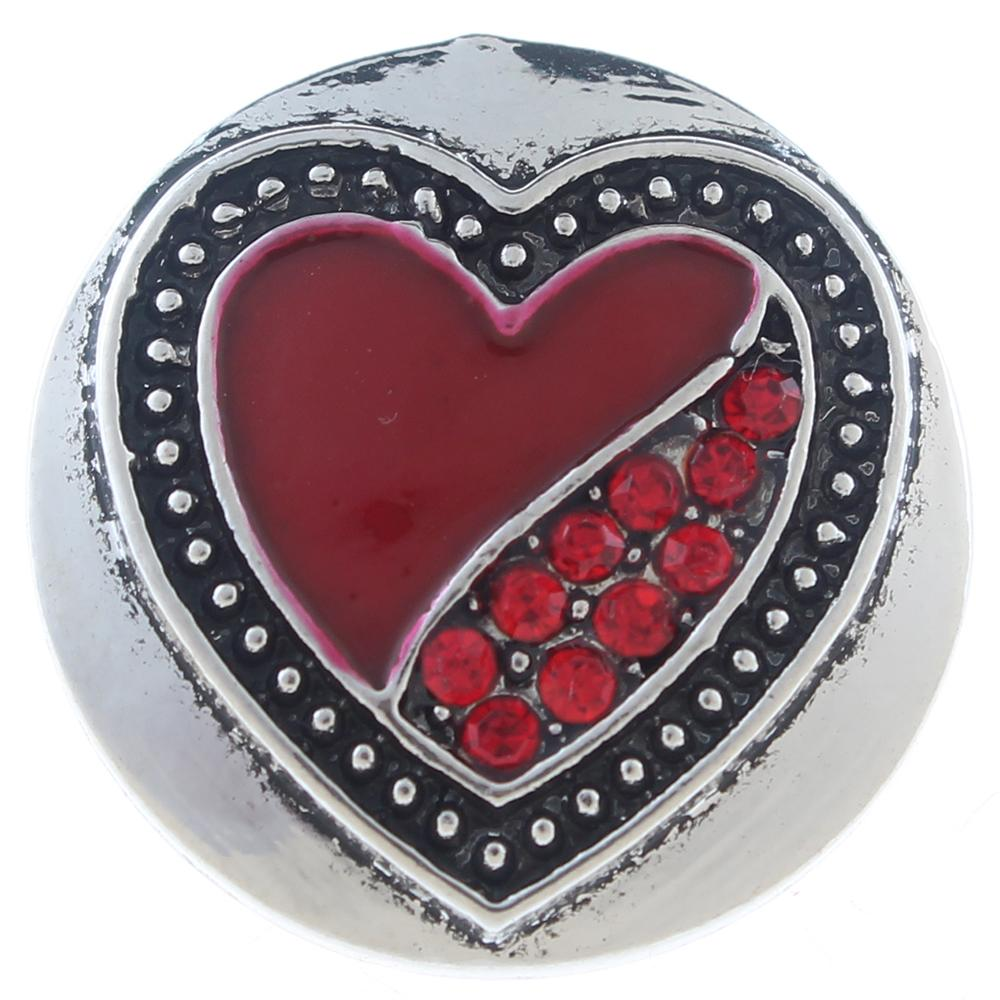 20MM snaps with rhinestone Snap Button