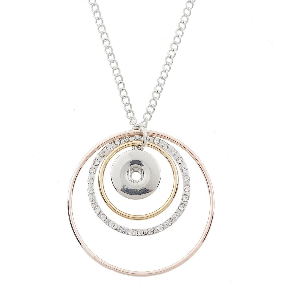 20mm snaps Necklace with chain
