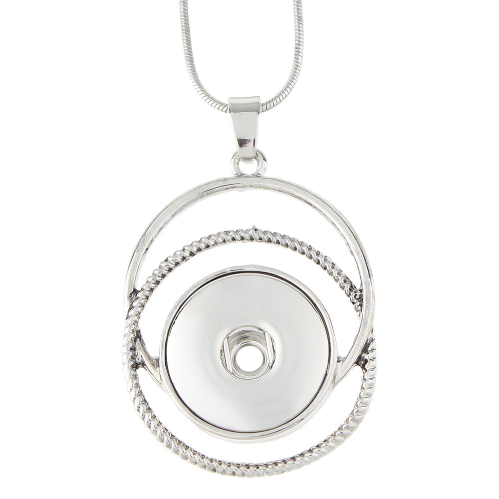 20mm Snaps Necklace Jewelry with 50cm chain