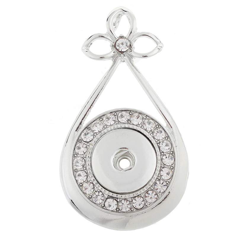 Snap button pendant without chain fit 20mm snaps