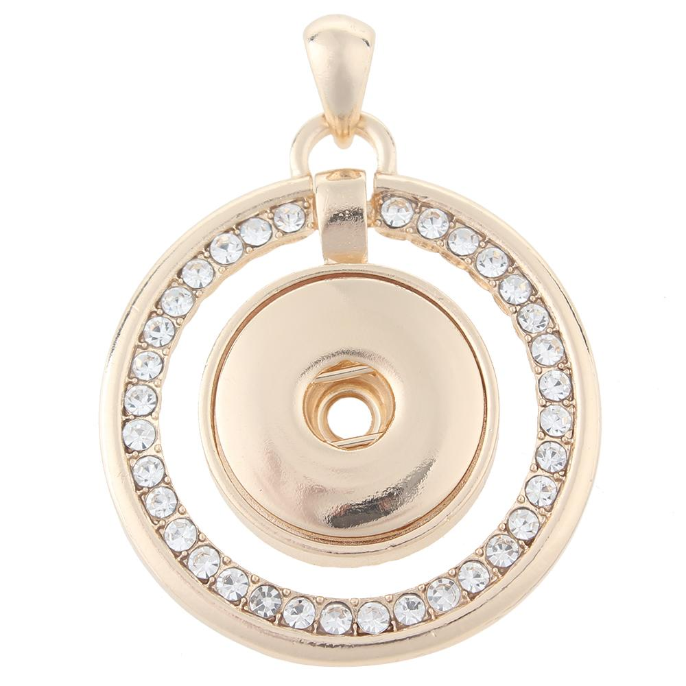 High quality Gold-plated Snaps pendants without chain