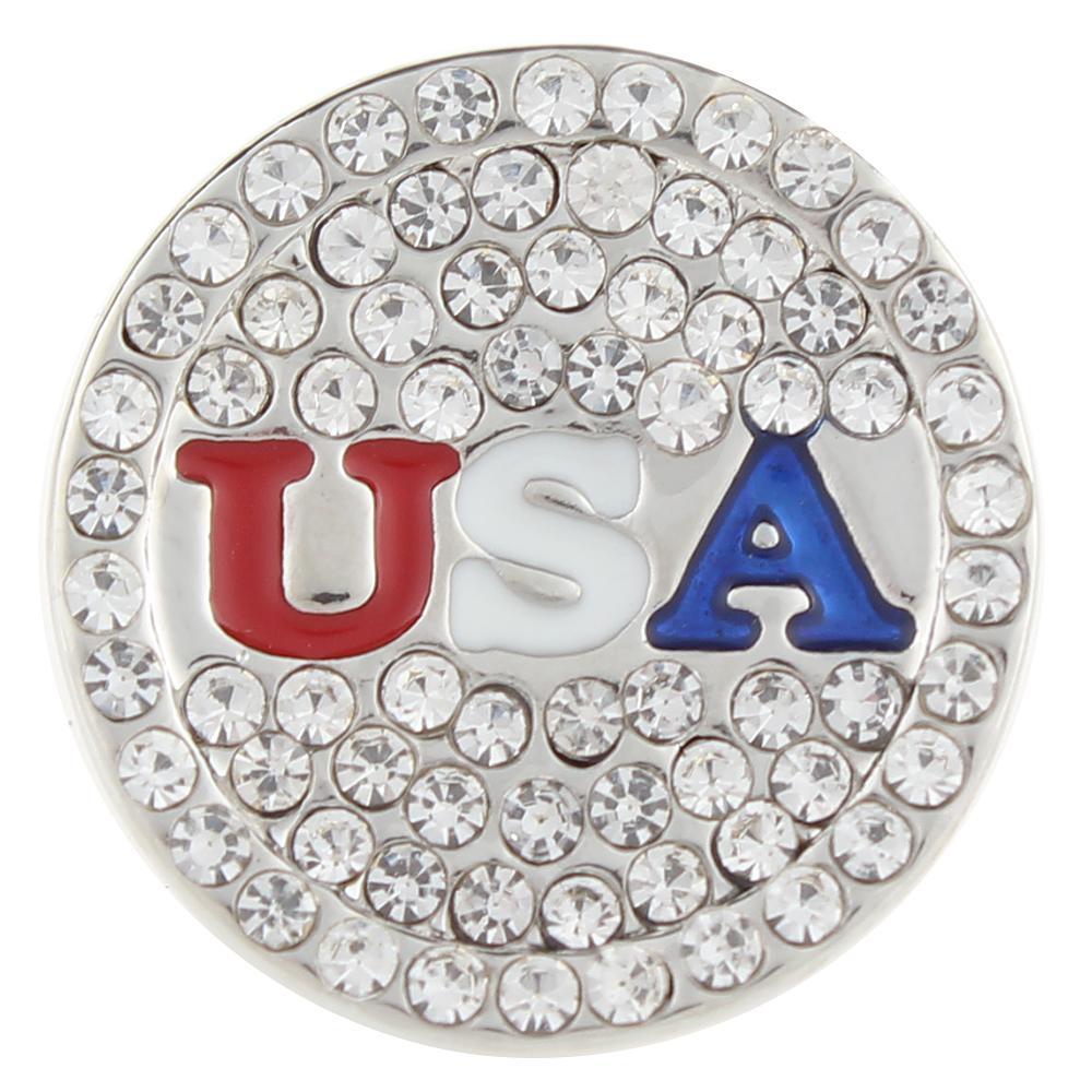 U.S.A 20mm Snap Button