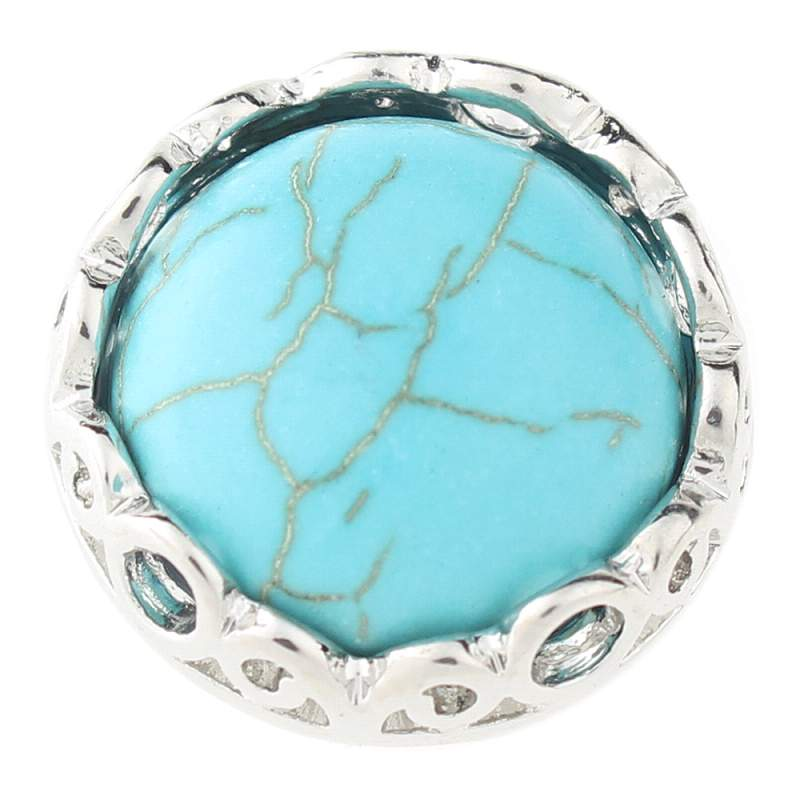 Natural turquoise snaps 20mm Snaps Button