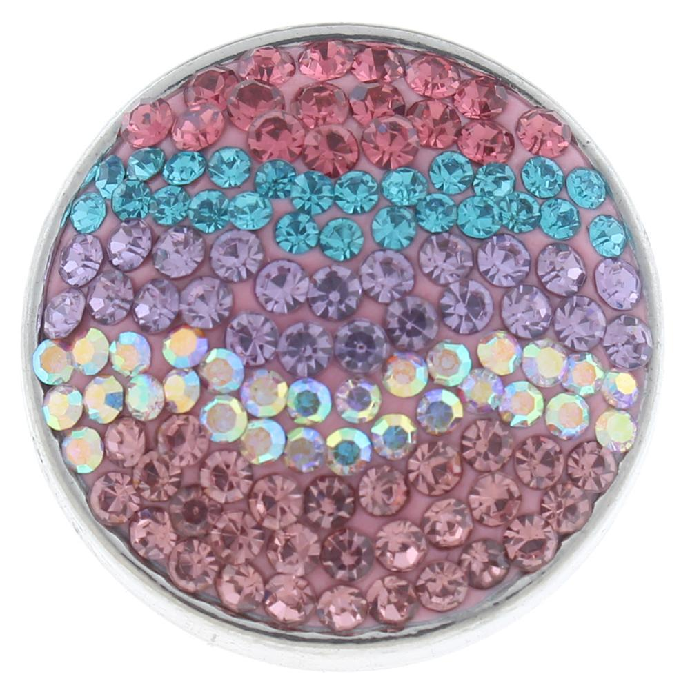 18mm Sugar snaps Alloy with rhinestones snaps jewelry