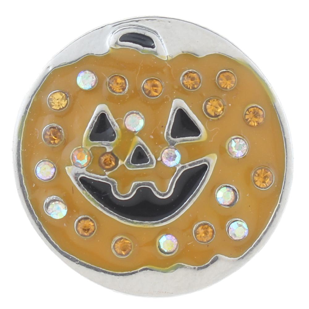 Halloween pumpkin lantern Enamel Snaps button 20mm Snap Button