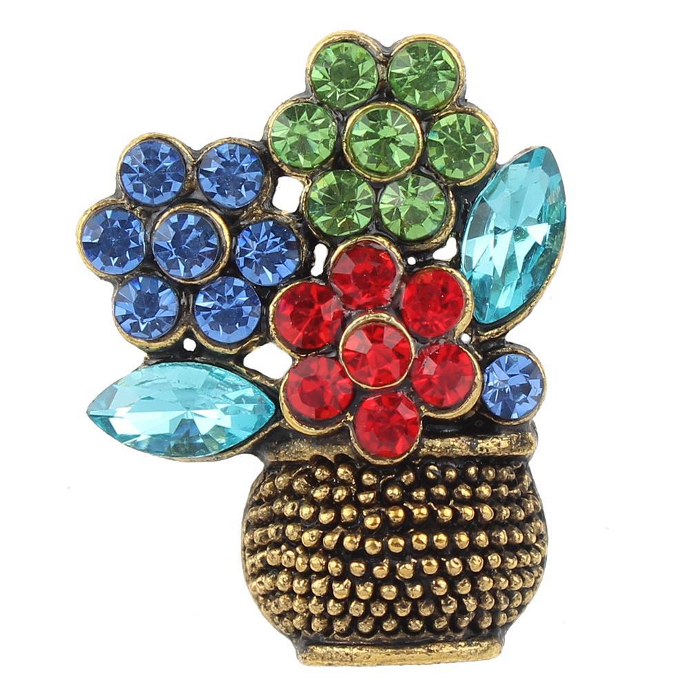 Flower arrangement snap buttons Pops