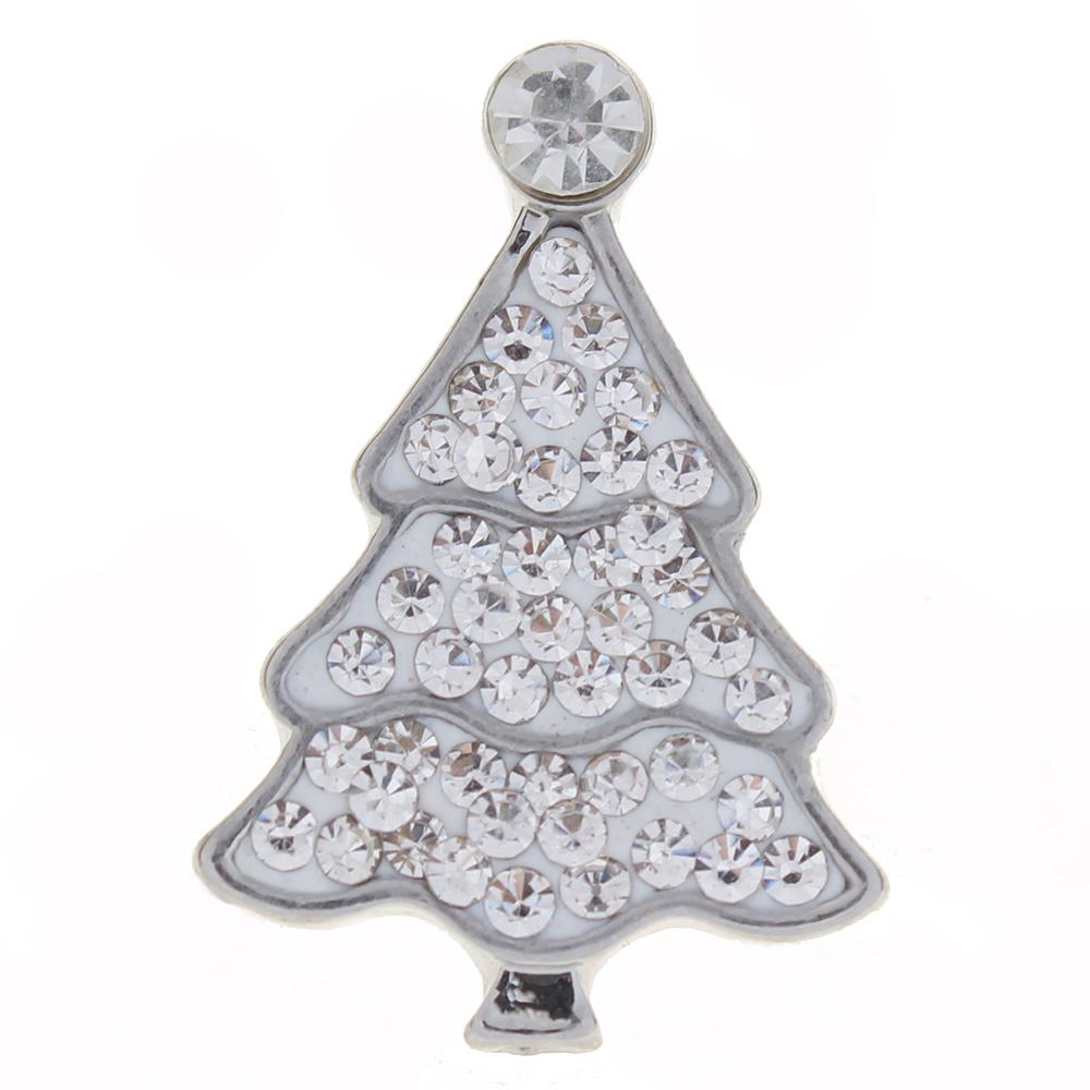 Merry Christmas clear with clear Rhinestones Christmas Tree