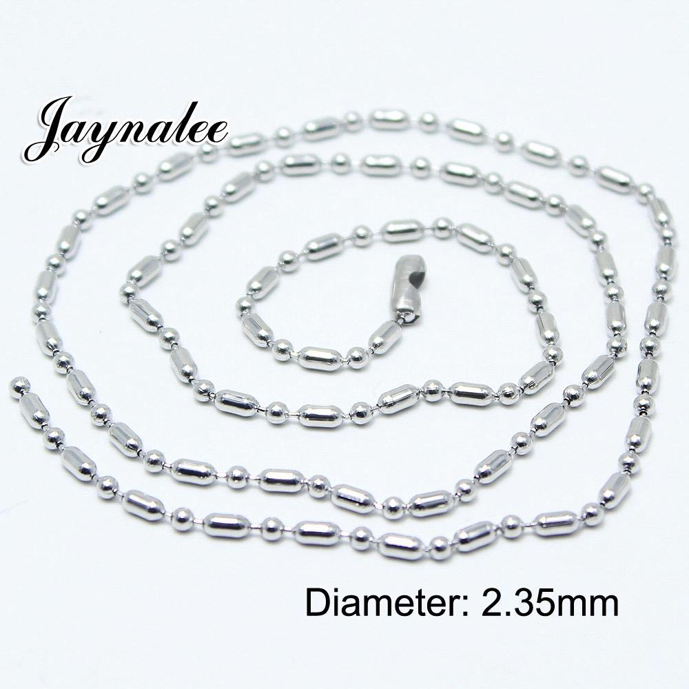 55CM Metal button pendant jewelry chain fit snap pendant