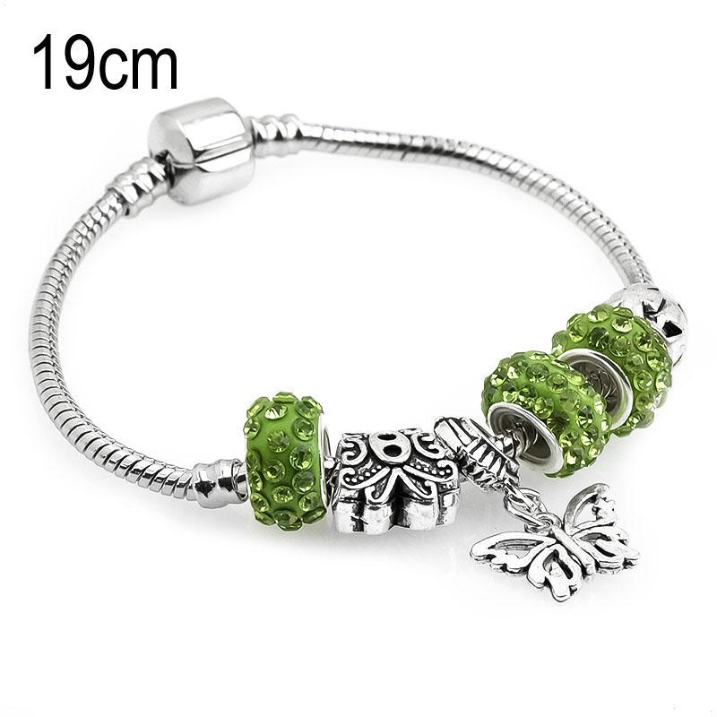 19 CM sea life European Beads Bracelets