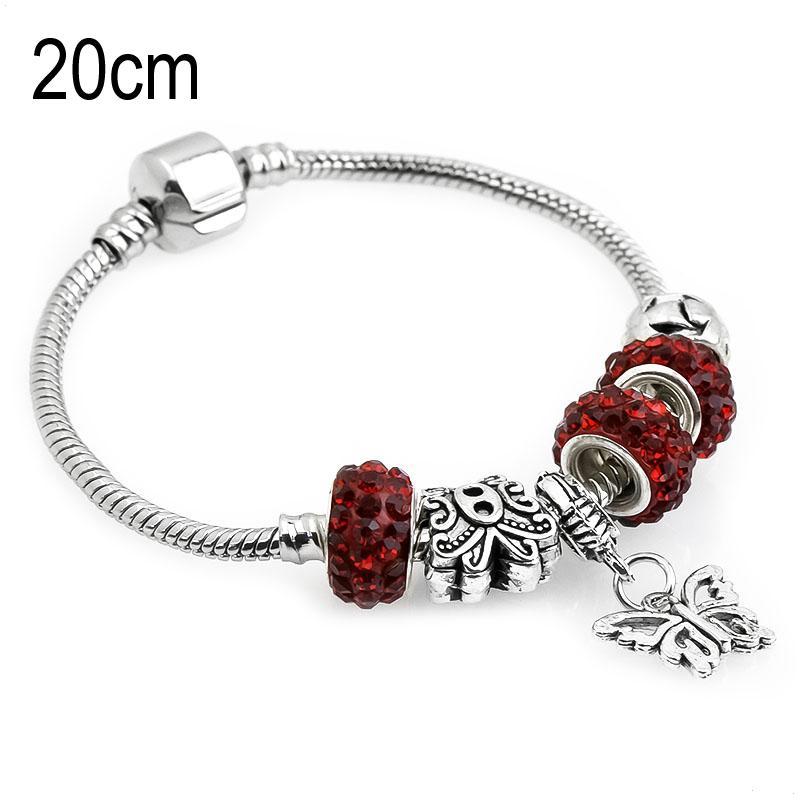 20 CM sea life European Beads Bracelets