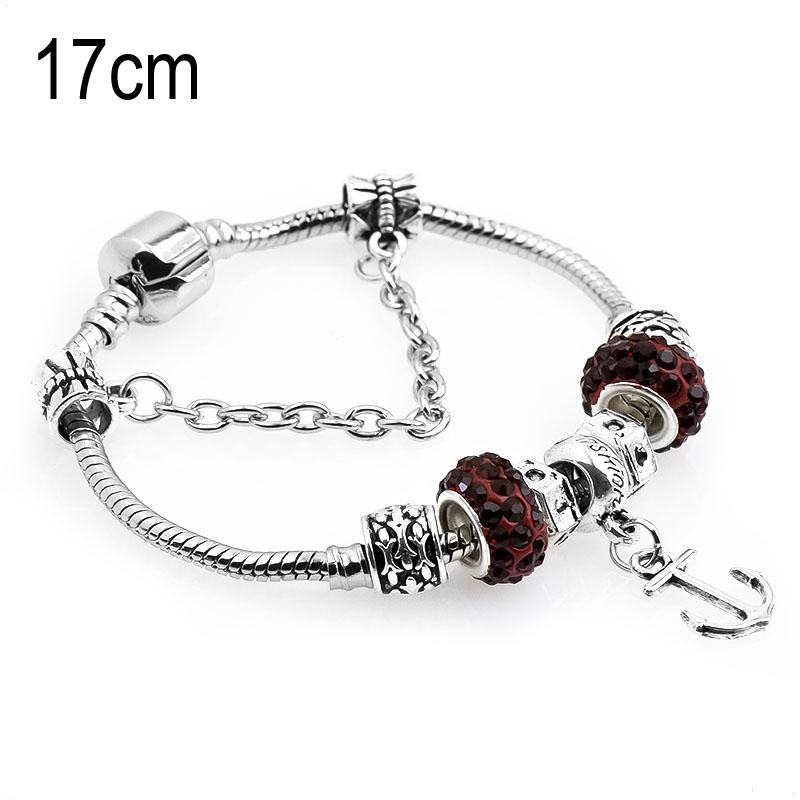 17 CM sea life European Beads Bracelets