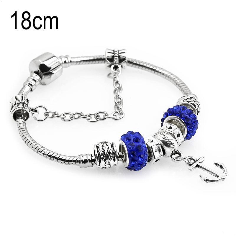 18 CM sea life European Beads Bracelets