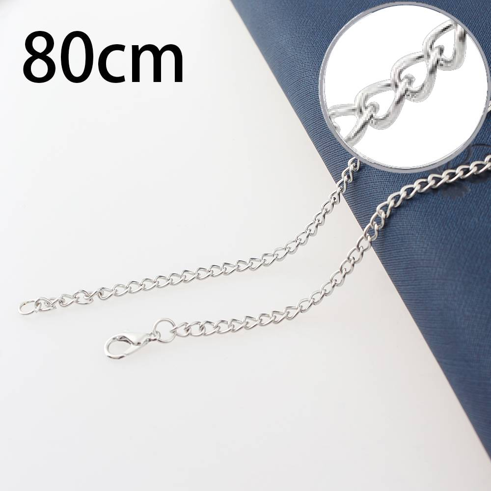 1.5mm*80CM Iron necklace chain