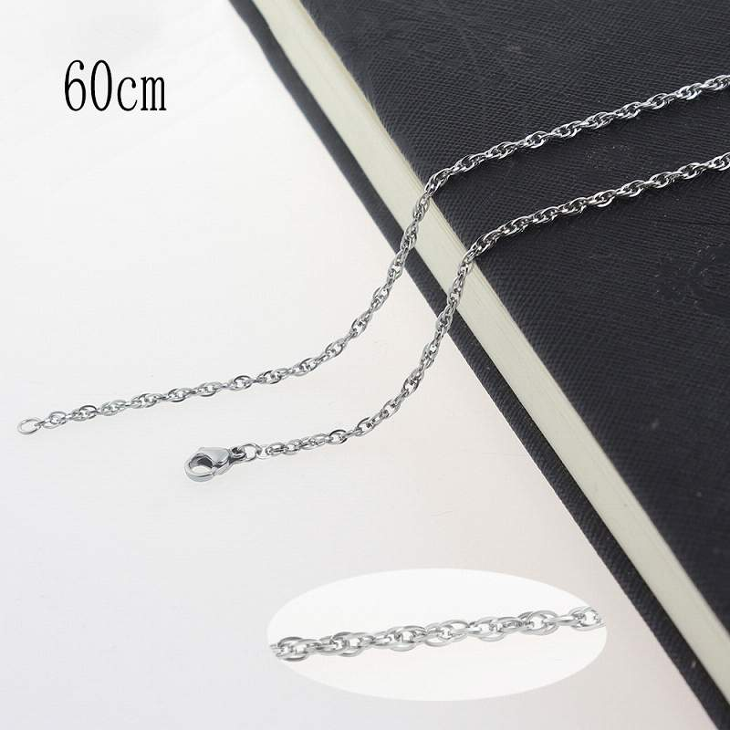 60CM Stainless steel necklace Jewelry Accessories Wholesales