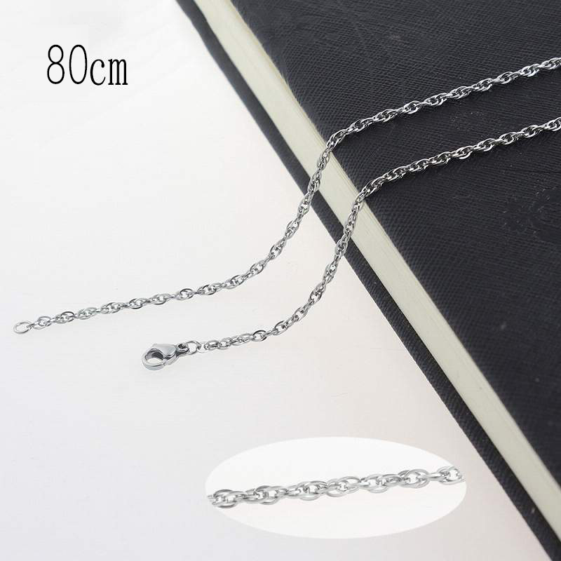 80CM Stainless steel necklace Jewelry Accessories Wholesales
